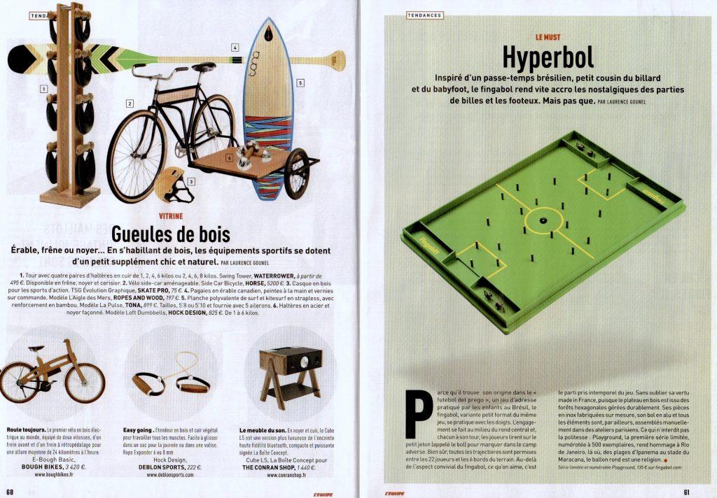 Parution 23 mars 2017 - L'Equipe Magazine